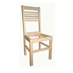 Cadeira C/ Assento Madeira SR48