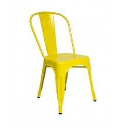 Cadeira Aço Amarelo SD1318