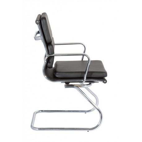 Cadeira Cromada Pele Sintética SD1362