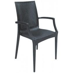 Cadeira Polipropileno Antracite SD1390