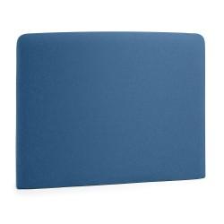 Cabeceira Cama Tecido Azul Escuro 90cm L865