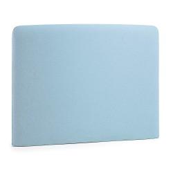 Cabeceira Cama Tecido Azul Claro 90cm L866
