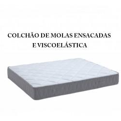 Colchão Lusocolchão Ergovisco LS52