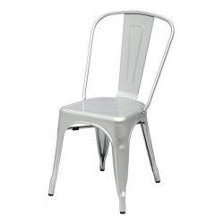 Cadeira Aço Cinza Prata SD1489