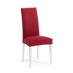 Cadeira Madeira, Tecido Vermelho L1056