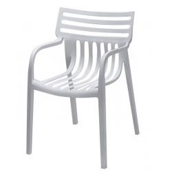 Cadeira Empilhável Polipropileno Branco SD7