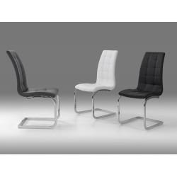 Cadeira cromada pele sintética VT653