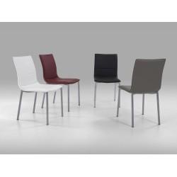 Cadeira pintada pele sintética VT652