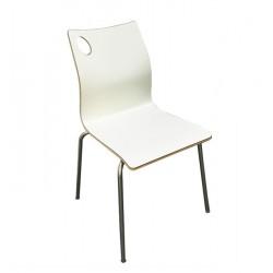 Cadeira Inox, Assento Laminado SD221