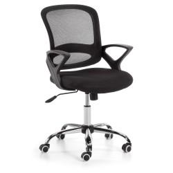 Cadeira de Escritório Preta L55