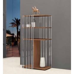 Cabinet Cromado + Nogueira VT957