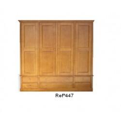Roupeiro 4 portas 447