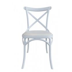 Cadeira Polipropileno, Coxim P. Sintética SD1509