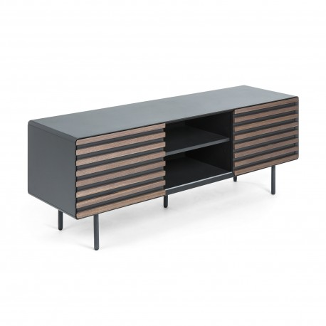 Base Tv Metal, Madeira 160x50 L326