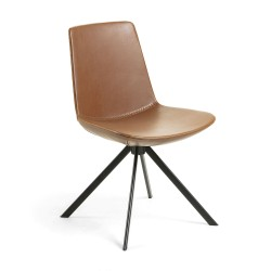 Cadeira Metálica, Pele Sintética L412