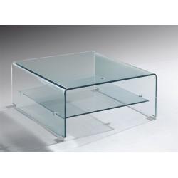 Mesa centro vidro 80x80 cm SD271