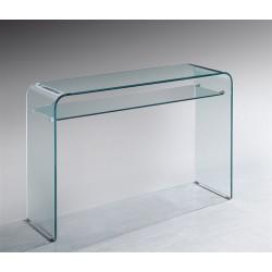 Consola vidro temperado, 110x35 cms SD274