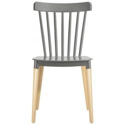 Cadeira Madeira, Polipropileno SD1516