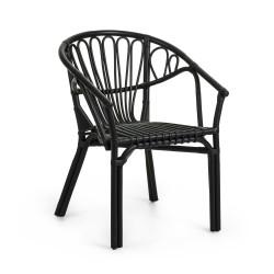 Cadeira c/Braços Rattan L1127