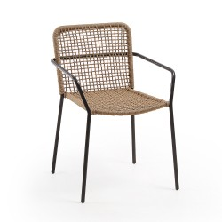 Cadeira Metal + Corda Poliéster L1130