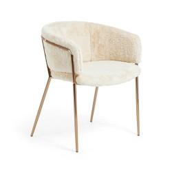 Cadeira Metal + Tecido L805