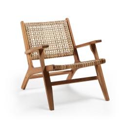 Cadeira Madeira, Vime Sintético L1189