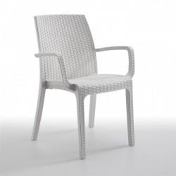Cadeira , polipropileno branco, SD1593