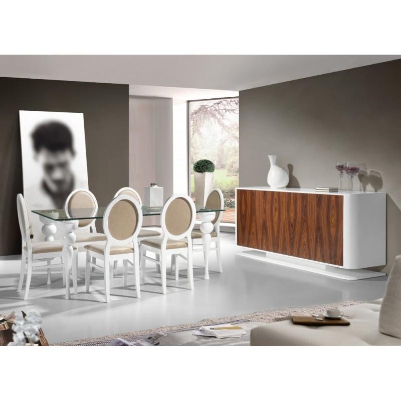 Salas de jantar modernas for Mobilia center e confiavel