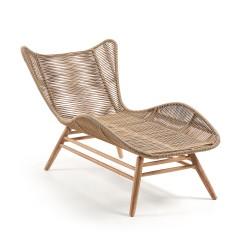 Chaise longue madeira+corda L1367