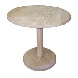 Mesa madeira pé coluna SR37