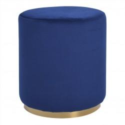 Puff Tecido Azul IT838