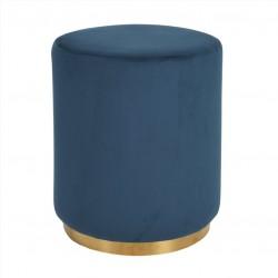 Puff Tecido Azul IT841