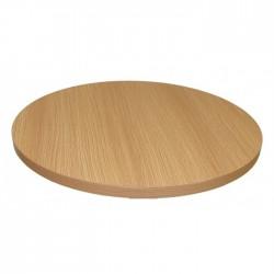 Tampo de mesa branco beige, 60 x 60 cm SD1620