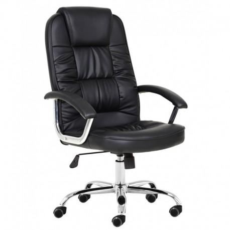 Cadeira Escritório Pele Sintética SD1714