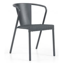 Cadeira Alumínio+Rattan GR62