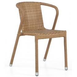 Cadeira Alumínio+Rattan GR63