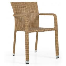 Cadeira Alumínio+Rattan GR59