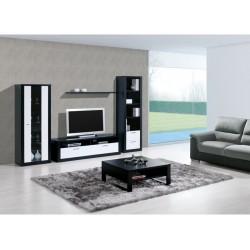 Estante preto+branco 661