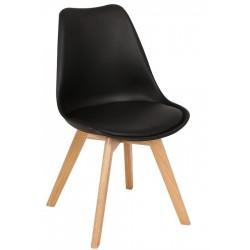 Cadeira madeira, Polipropileno SD1794