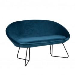 Sofa 2 Lug. Veludo Azul IT913