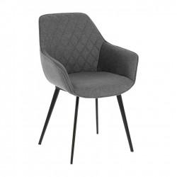 Cadeira Metálica, Tecido L1463