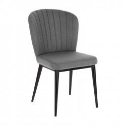 Cadeira Metálica, Tecido L1467