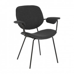 Cadeira Metálica, Tecido L1471
