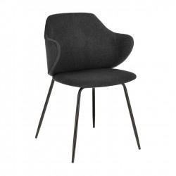 Cadeira Metal + Tecido L1526