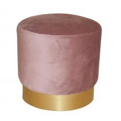Puff rosa Ø40 cm SD1889
