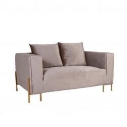 Sofa 2 Lug. Veludo Bege IT942
