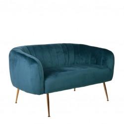 Sofa 2 Lug. Veludo Verde IT909