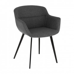 Cadeira Metal + Tecido L1548