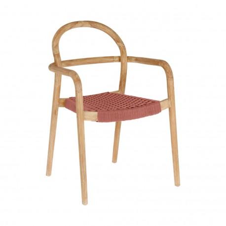 Cadeira Madeira, Corda Poliester L1589