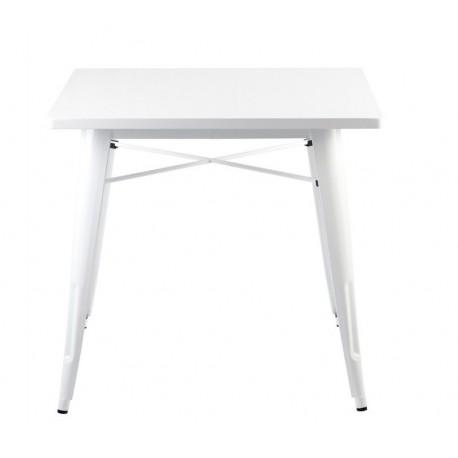 Mesa aço, branca,SD191